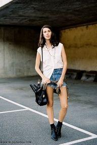 awesome STREET STYLE | Dicas de como usar | Shorts Jeans