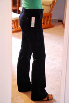 I like the fit of these jeans, I wear a lot of boot cut, but I'm starting to branch out to skinny jeans also.