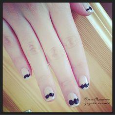 Усы #nail #nails #ногти #маникюр #рисунок #nailart #art #naildesign #design #nailstyle #style