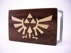Triforce Buckle by StumpIndustries on Etsy, $25.00