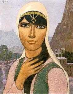 Görsel Sanatlar Deposu / Fine Arts Archive: Nuri İYEM / Anadolu / Turkish Painter