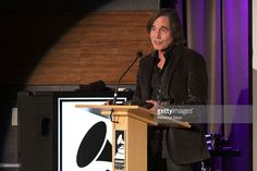 Singer/songwriter Jackson Browne accepts award at 2015 Jane Ortner Education Award Ceremony at The GRAMMY Museum on November 3, 2015 in Los Angeles, California.