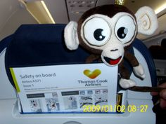 On his way to Gambia... #TikiInGambia #TikiMonkey #Jackpotjoy https://www.facebook.com/jackpotjoy http://www.jackpotjoy.com/