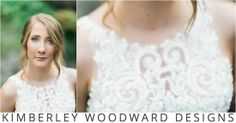 Sally's #beautiful custom made KIMBERLEY WOODWARD DESIGNS #weddingdress featuring 30 metres of pure #silk and a delicately #beaded bodice of ivory French #lace. Photographer: Jac and Heath Photography. #kimberleywoodwarddesigns #weddings #bride #bridal