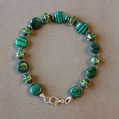 Marvelous Malachite by StoneExpressions on Etsy