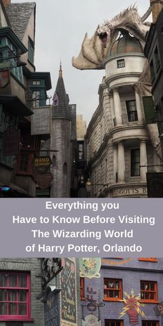 Everything you Need to Know Before Visiting The Wizarding World of Harry Potter, Orlando, Florida. The complete guide to visiting Hogsmeade and Diagon Alley in Universal Studios. Including tips, tricks and hacks