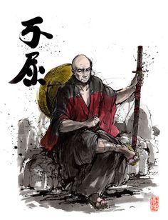 Samurai Picard by MyCKs.deviantart.com on @DeviantArt