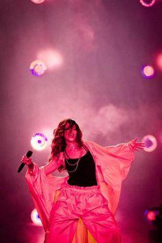 """9/26 - Rihanna performing at """"Rock In Rio"""" in Rio De Janeiro, Brazil."""