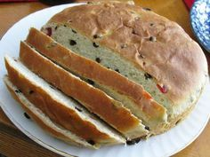 Julekake ~ Norwegian Christmas Bread. My hubby's family is Norwegian and makes this every year for Christmas!