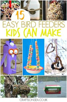 trendy Ideas winter animal art projects for kids bird feeders Animal Art Projects, Winter Art Projects, Projects For Kids, Diy Projects, Garden Projects, Garden Ideas, Diy Gifts For Kids, Crafts For Kids To Make, Bird Feeders For Kids To Make