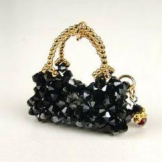 Chaveiros de Miçangas! *.**.*miniature purse