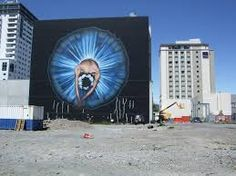 Street Art is emerging as the new face of Christchurch with artists from around the world taking to the city streets with stunning results. City Streets, Art Google, New Zealand, Graffiti, Street Art, Around The Worlds, Urban, Ballerina, Image
