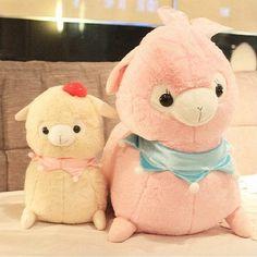 Alpaca Plush / Alpacasso Amuse Soft doll /Cushion Lying Alpacasso/ Arpakasso/ Llama -Maid Cafe- Kid's Alpacaffe on Etsy, $23.99