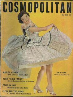 Cosmopolitan magazine, 1955.