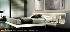 Modern beds for the home. http://www.nextluxury.com