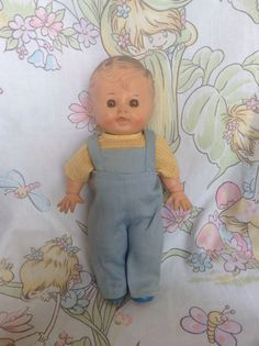 1950's Sun Rubber Co Tod L Tim Squeker Doll by twinkletotsVintage on Etsy https://www.etsy.com/listing/235801937/1950s-sun-rubber-co-tod-l-tim-squeker