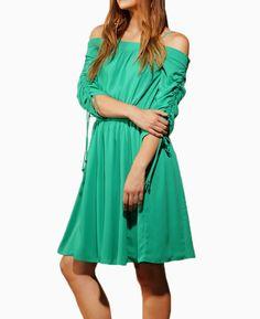 Adelyn Rae Woven Chiffon Swing Dress | Lily Rain