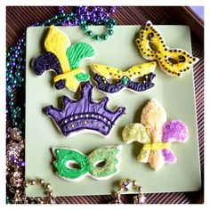 Mardi Gras #cheapcookiecutters