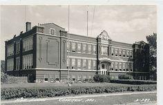 Missouri Postcard Cameron High School 1948 | eBay
