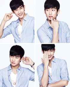 Kim Soo Hyun Bares His Legs For ZIOZIA's Summer 2013 Campaign (UPDATED) | Couch Kimchi