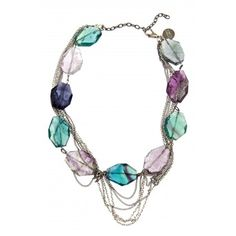 This is by far my favourite necklace! Amazing colour combination! <3