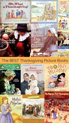 Housewife Eclectic: The Best Thanksgiving Books for Children