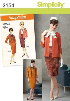 Simplicity Creative Group - Misses' & Miss Petite Vintage Suit