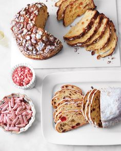"""""""I order traditional Christmas candy and stollen and panettone, and round those out with delicious lemon cookies and mini chocolate cupcakes,"""" says Martha. """"That's more than enough, really, for a meal like this, because I also have the citrus salad."""""""
