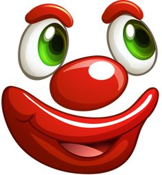 View album on Yandex. Clown Faces, Cartoon Faces, Cute Faces, Funny Faces, Emoji Images, Emoji Pictures, Smiley Emoji, Funny Emoji, Clay Pot Crafts