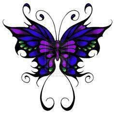 Tatouages de papillon Papillons and Tatouages on Pinterest