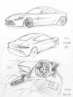 44 best cars drawings images car drawings drawings of cars car Concept Cars Of The 70'S car drawing 151207 2015 astonmatin db10 prisma on paper kim j h car design sketch