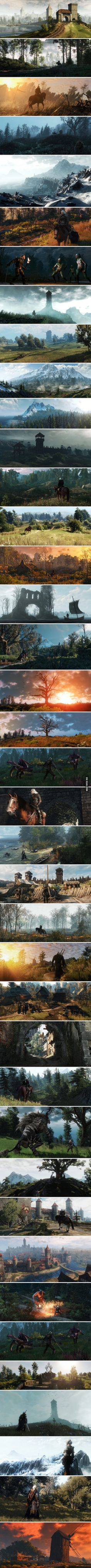 Stunningly Beautiful Witcher 3 Screenshots