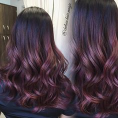Dimensional plum and rose tones  Due to high volume in texts please be patient…