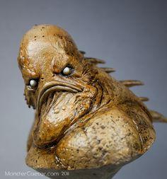 THE INNSMOUTH LOOK  by Andrew Martin (Monster Caesar Studios) | Kit here : http://www.monstercaesar.com/Gallery/Innsmouth_look/