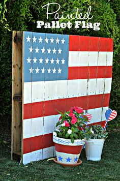 How to Paint a PalletFlag