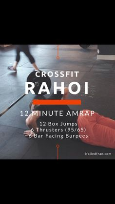 Crossfit 12 Min AMRAP Workout | Posted By: NewHowToLoseBellyFat.com