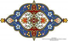 Art islamique - Tazhib turque   Galerie d'art islamique et Photographie