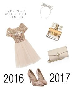 """""""au revoir 2016"""" by ledouleurexquisite ❤ liked on Polyvore featuring Chi Chi, Dolce&Gabbana and Givenchy"""