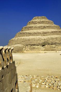 Step Pyramid, Sakkara, Egypt