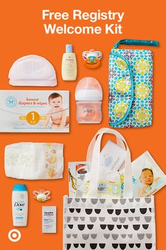 Create a Target Baby Registry today. You'll get a Welcome Kit with $50 worth of coupons & handpicked samples, 15% off everything left on your registry and easy returns.