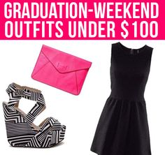 Graduation-Weekend Outfits Under $100