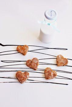Let's do something sweet!: Srdíčka z lískooříškové drti
