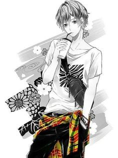 Image about fashion in manga by ~鏡音ミラリン☆ on We Heart It Anime Sexy, Anime Sensual, Cute Anime Guys, Hot Anime Boy, I Love Anime, Cute Guys, Anime Boys, Manga Font, Chica Anime Manga