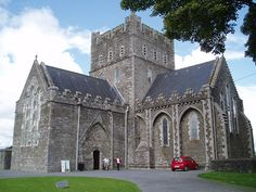 St. Brigid's [PAGAN] Cathedral, Kildare    This is St. Brigid's as it looks from the front gate.