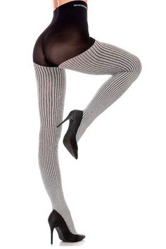 Trasparenze Bonarda Ribbed Sparkle Tights - See more tights at www.fashion-tights.net ‪#tights #pantyhose #hosiery #nylons #fashion #legs‬ #legwear #advertising #influencer #collant