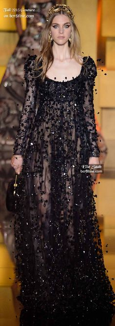 Elie Saab Couture Fall 2015-16
