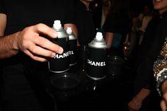 chanel spraypaint
