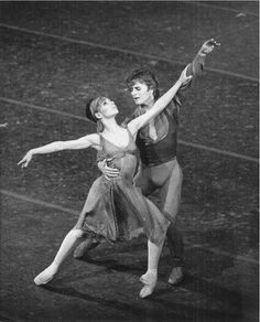 Gelsey Kirkland and Mikhail Baryshnikov in Other dances