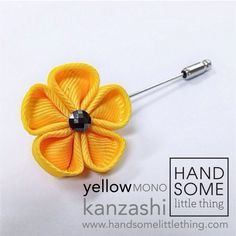 Handmade lapel pins by Handsomelittlething. Visit www.handsomelittlething.com for more design Little Things, Lapel Pins, Handmade, Design, Hand Made, Badges, Handarbeit