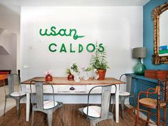 Haz que tu casa hable: decora con palabras.